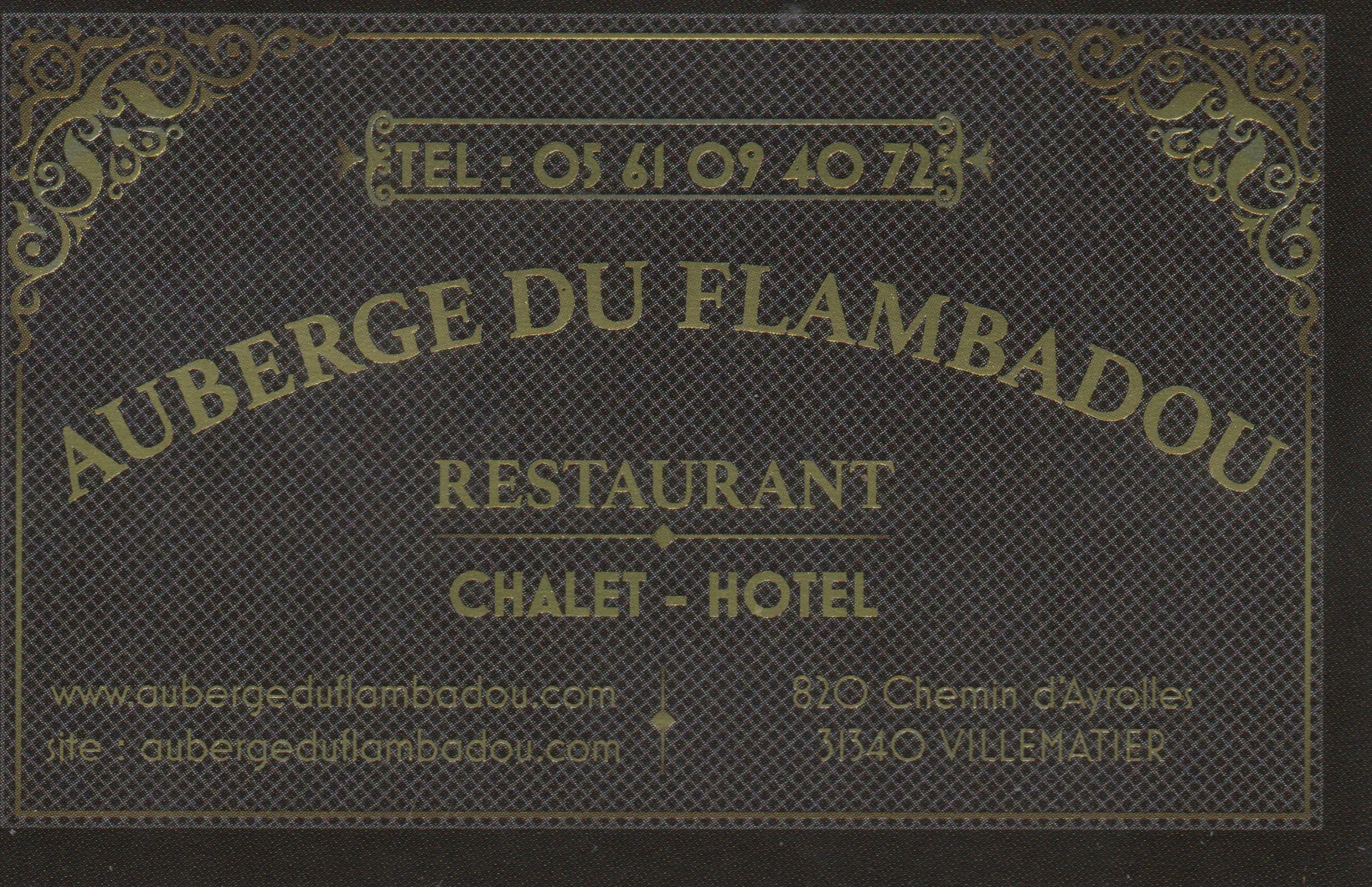 Auberge du Flambadou